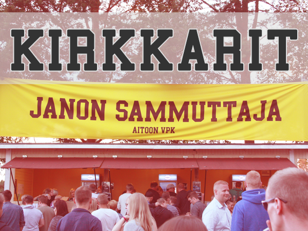 Aitoo's Kirkastusjuhlat, one of Finland's oldest festivals, chose Solmio as their POS buddies